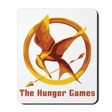 The Hunger Games Orange Mousepad