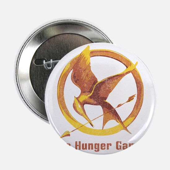 """The Hunger Games Orange 2 2.25"""" Button"""