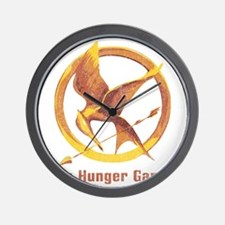 The Hunger Games Orange 2 Wall Clock