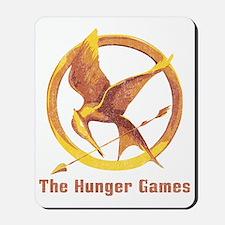 The Hunger Games Orange 2 Mousepad