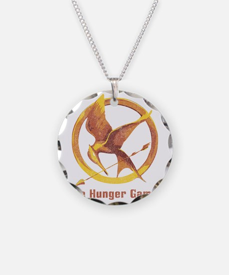 The Hunger Games Orange 2 Necklace
