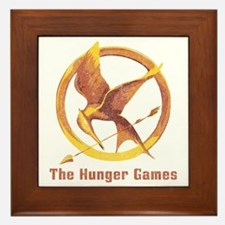 The Hunger Games Orange 2 Framed Tile