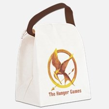 The Hunger Games Orange 2 Canvas Lunch Bag