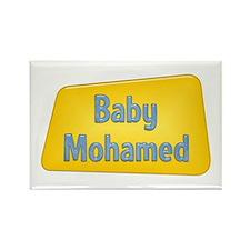 Baby Mohamed Rectangle Magnet