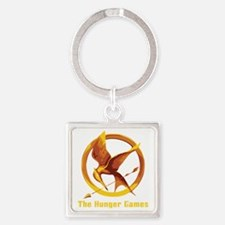 The Hunger Games 2 Square Keychain