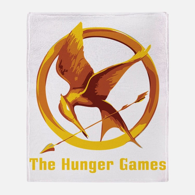 The Hunger Games 2 Throw Blanket