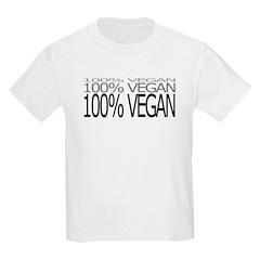 100% Vegan Kids T-Shirt