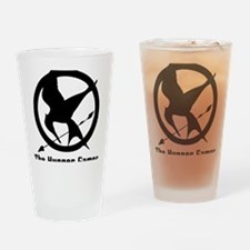 The Hunger Games 3 Drinking Glass