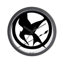 The Hunger Games 3 Wall Clock
