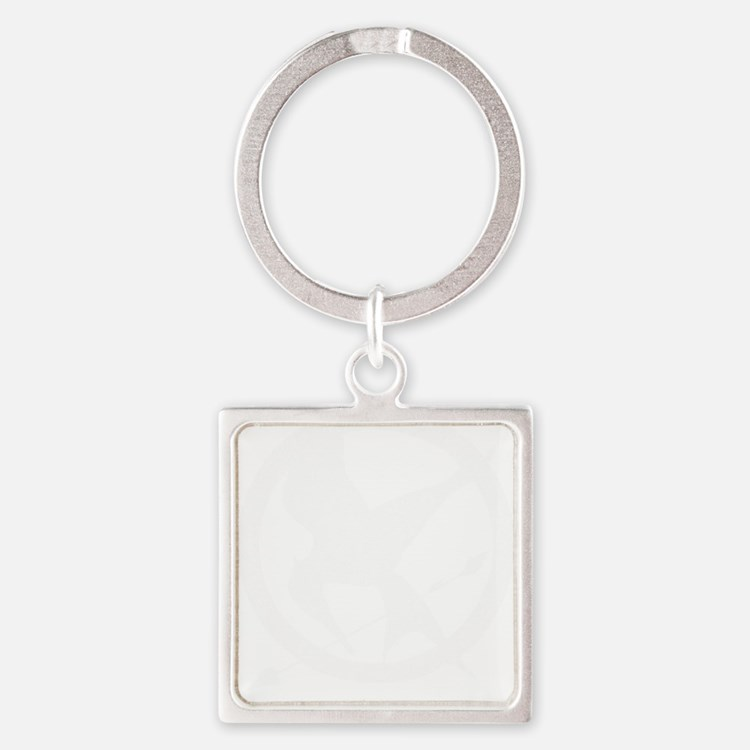 The Hunger Games Vintage 4 Square Keychain