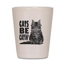 catsbcatin Shot Glass