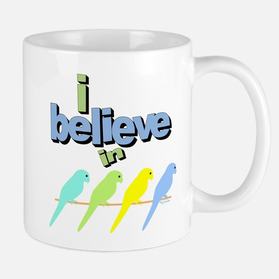 I believe in birds Mug