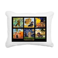 T-MPDComp-VG-Dachshund Rectangular Canvas Pillow