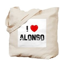 I * Alonso Tote Bag