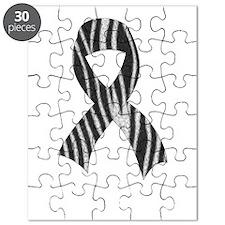ribbon front White Puzzle
