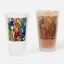 Crab Party Drinking Glass