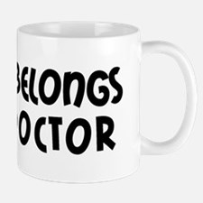 My Heart Belongs to a Doctor Small Small Mug