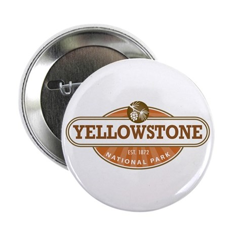 """Yellowstone National Park 2.25"""" Button (100 pack)"""