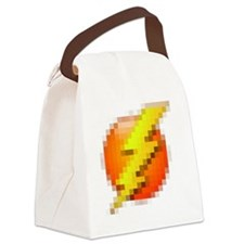 lightning Canvas Lunch Bag