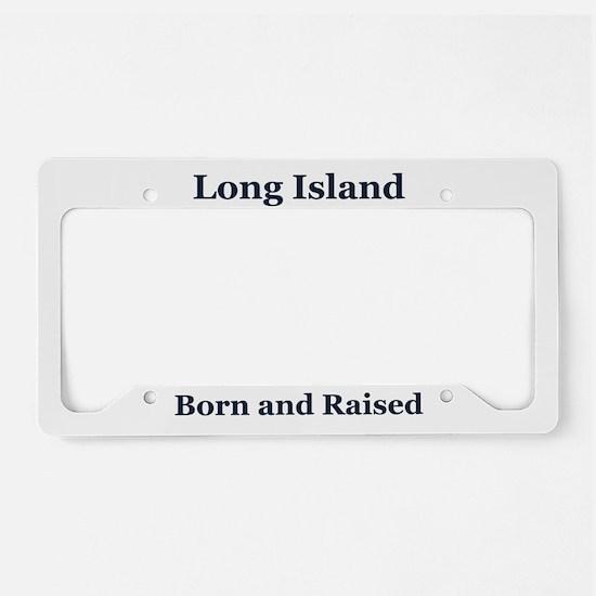 Long Island Frame License Plate Holder
