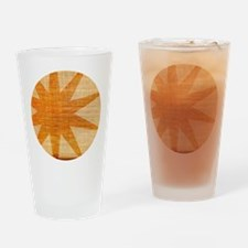 Sunburst Drinking Glass