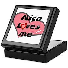 nico loves me Keepsake Box