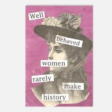 wellbehaved Postcards (Package of 8)
