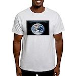 Earth Day Earthrise Light T-Shirt