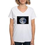 Earth Day Earthrise Women's V-Neck T-Shirt