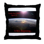 Earth Day 2008 Throw Pillow