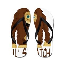 LilSquatch Flip Flops