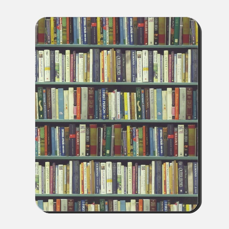 Bookshelf7100 Mousepad