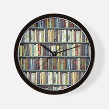 Bookshelf7100 Wall Clock