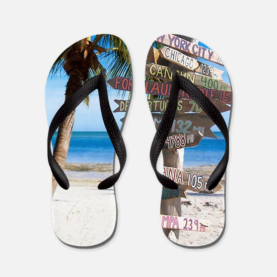 KeyWestSign7100 Flip Flops