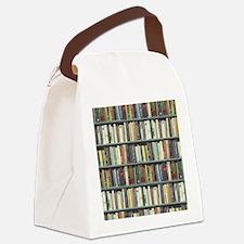 Bookshelf7100 Canvas Lunch Bag