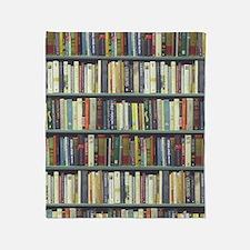 Bookshelf7100 Throw Blanket