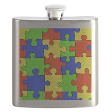 uniquepuzzle-4x4 Flask