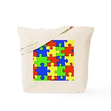 uniquepuzzle-4x4 Tote Bag
