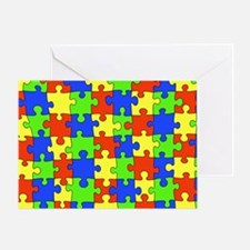 uniquepuzzle-10x6 Greeting Card