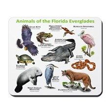 Animals of the Florida Everglades Mousepad