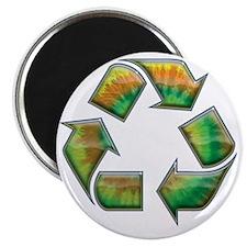 recycle-tie-dye-T Magnet