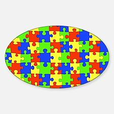 uniquepuzzle-10x8 Decal