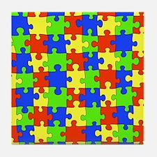 uniquepuzzle-10x8 Tile Coaster