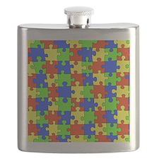 uniquepuzzle-10x8 Flask