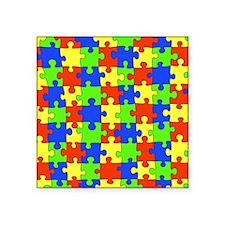 """uniquepuzzle-10x8 Square Sticker 3"""" x 3"""""""