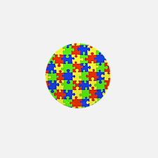 uniquepuzzle-10x8 Mini Button