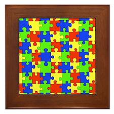 uniquepuzzle-10x8 Framed Tile