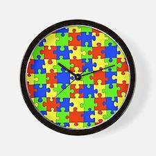 uniquepuzzle-10x8 Wall Clock