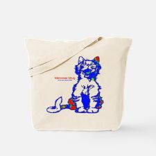 Funny Hello Meoow Tote Bag
