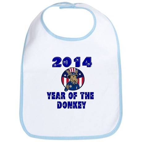 Year of the Donkey Bib